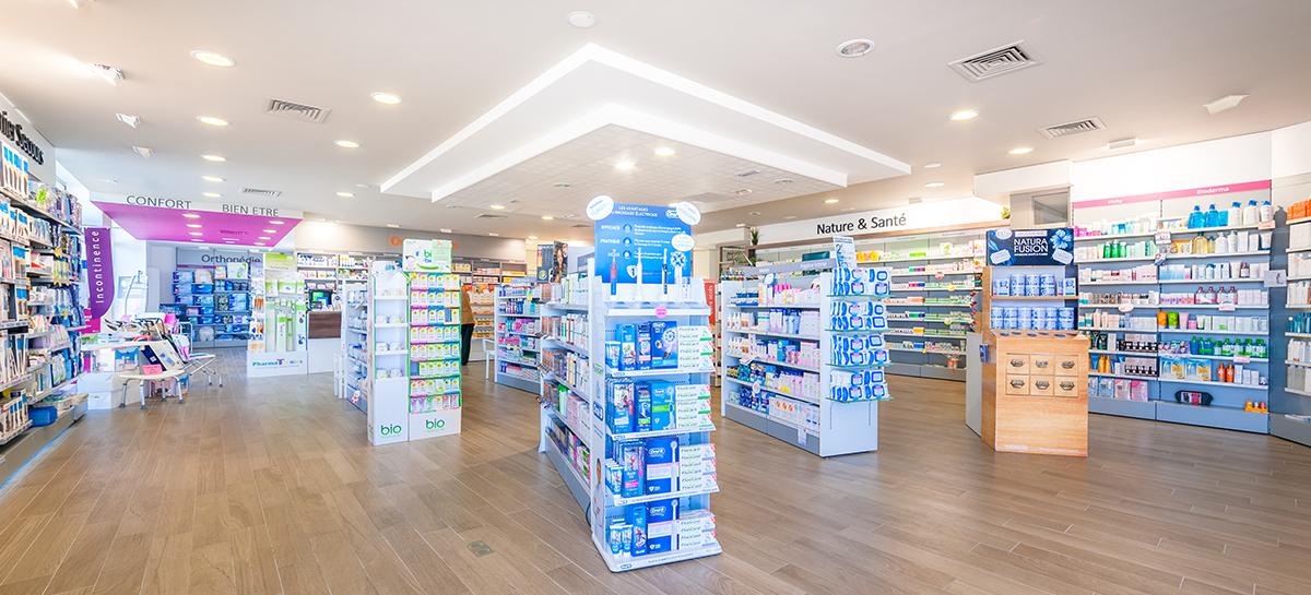 Les produits de la pharmacie